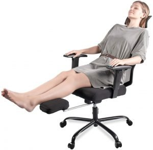 Smugdesk with Footrest best office chair under $200